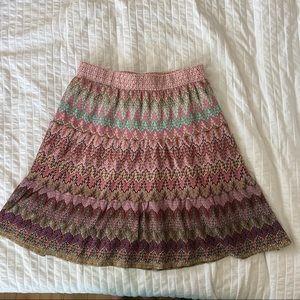 Pretty A-line knee length skirt
